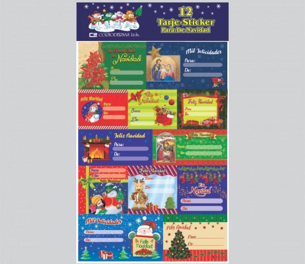 """Stickers """"Para – De"""" Navidad"""